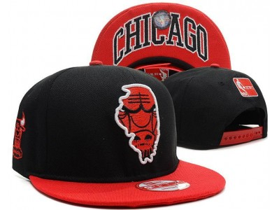 8139e27ca9c Snapbacks and Beanies. Chicago Bulls Snapback · Black And Red Nba Bulls  Snapback Cap