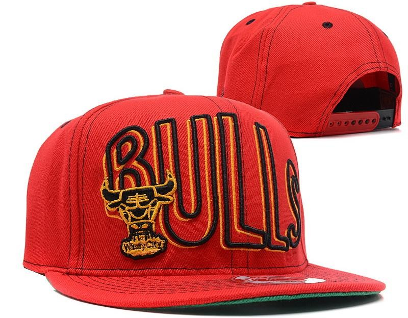 Chicago Bulls Snapback Hat For Sale Red Chicago Bulls Snapback