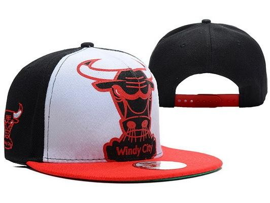 843a34f54a2 White And Black Chicago Bulls Snapback Red Brim for sale