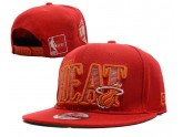 All Red Miami Heat Snapbacks