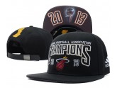 Black Miami Heat NBA Champions Snapback