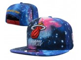 Blue Floral Miami Heat Snapback Hat