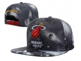 Grey Red Floral Miami Heat Snapback