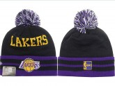 Los Angeles Lakers Kint Beanie