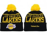 Los Angeles Lakers Kint Beanie For Cheap