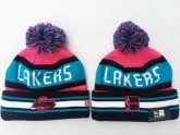 Los Angeles Lakers Kint Beanie For Girls