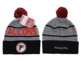 Mitchell and Ness Atlanta Falcons Knit Beanie Hats