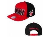Mitchell and Ness Miami Heat Snapback