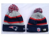 Mitchell and Ness New England Patriots Knit Beanie Hats