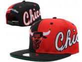 Red And Black Chicago Bulls Snapback