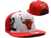 Red Chicago Bulls Snapback