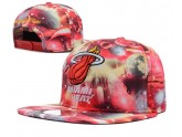 Red Floral Miami Heat Snapback