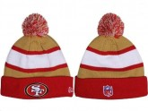 Red San Francisco 49ers Knitted Beanies Hats