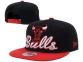 Wholesale Black And Red Chicago Bulls Snapback